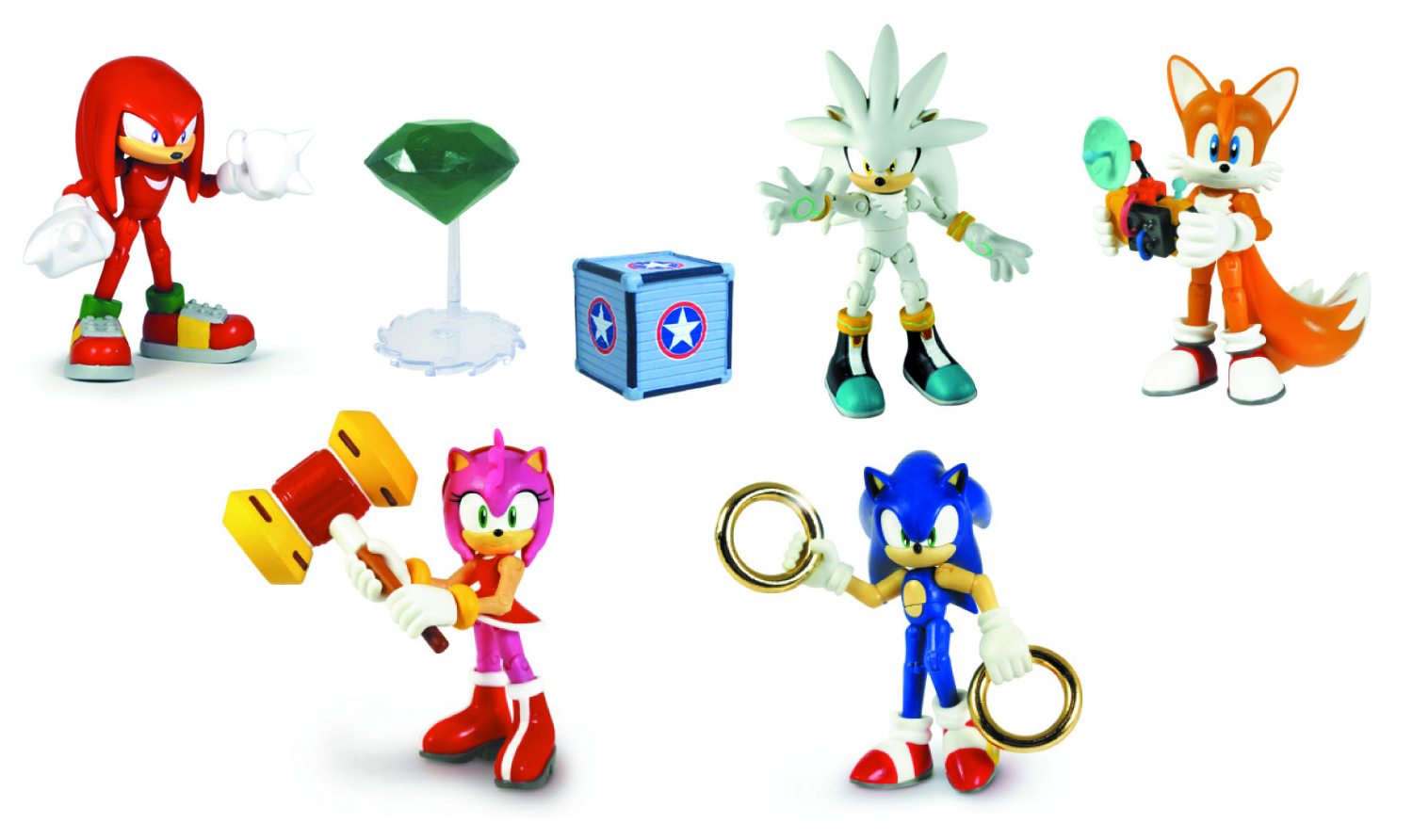 SONIC 3IN AF W/ACCESSORIES ASST