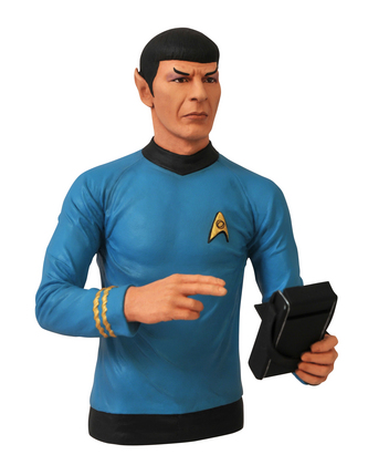 STAR TREK BUST BANK SPOCK