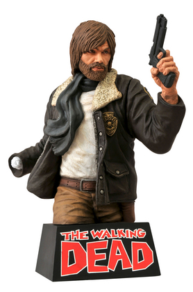 WALKING DEAD BUST BANK RICK GRIMES