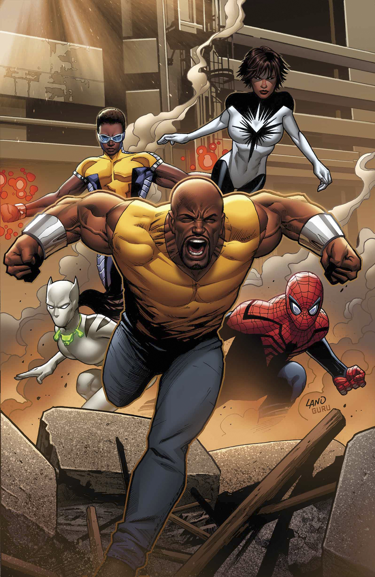 MIGHTY AVENGERS #1 INF