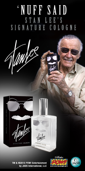 STAN LEE SIGNATURE COLOGNE FOR MEN
