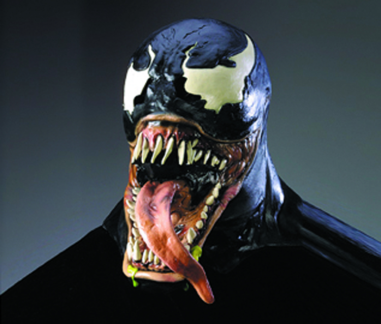 VENOM VINYL MASK ADULT