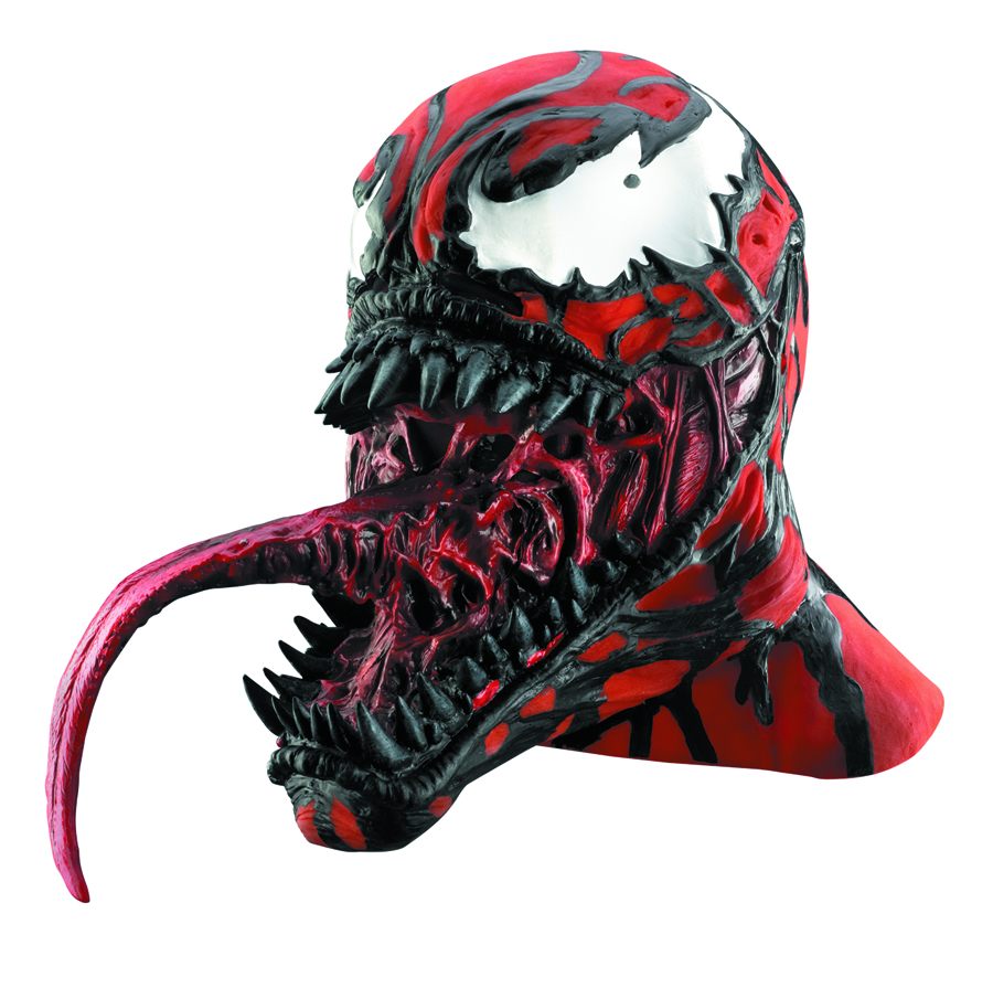 CARNAGE VINYL MASK ADULT