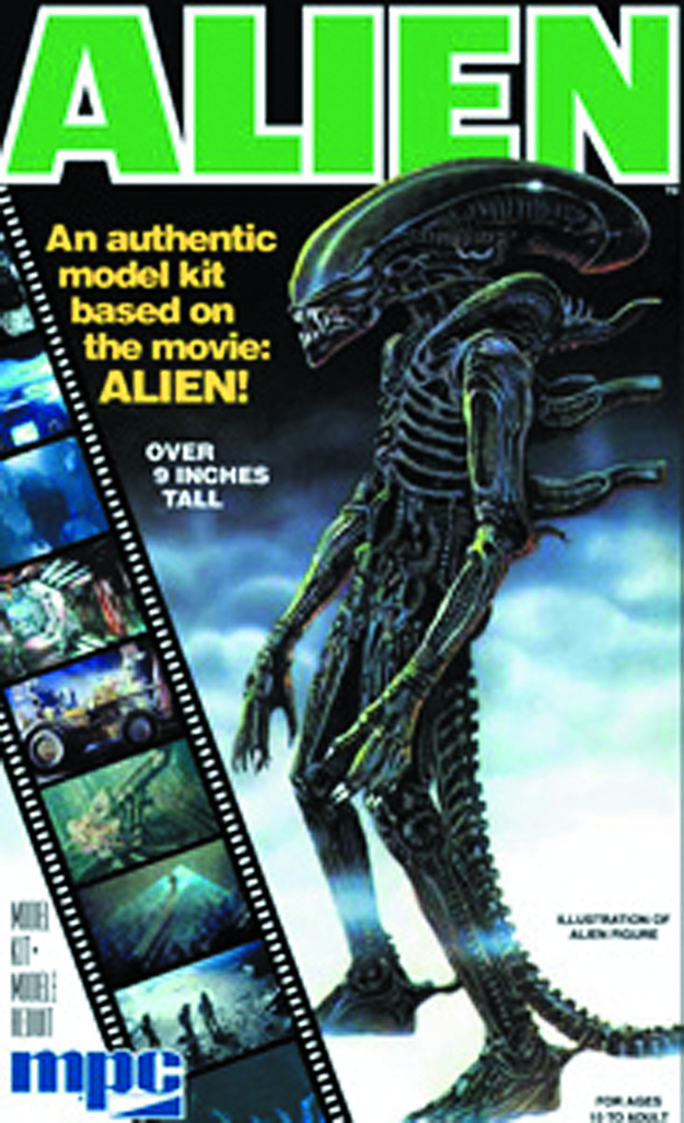 ALIEN 1/9 SCALE MODEL KIT
