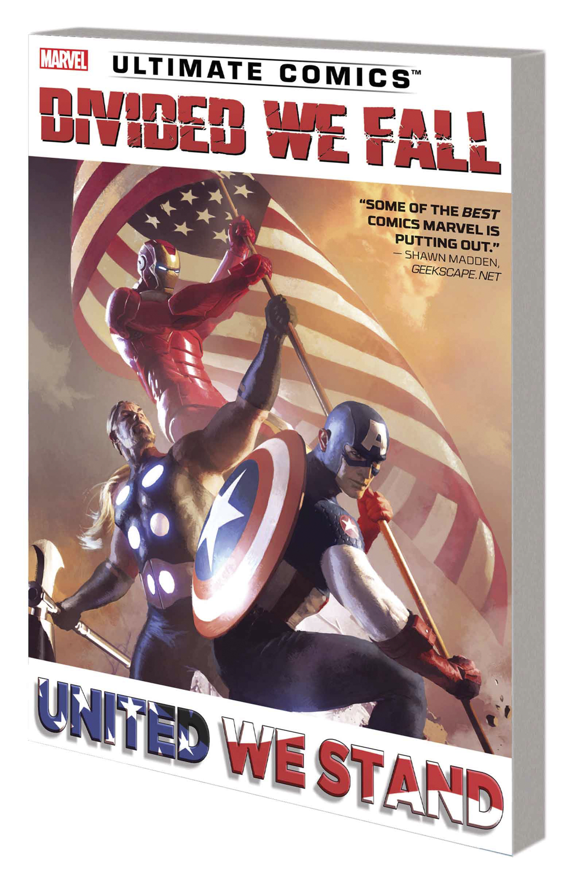 ULTIMATE COMICS DIVIDED WE FALL UNITED WE STAND TP