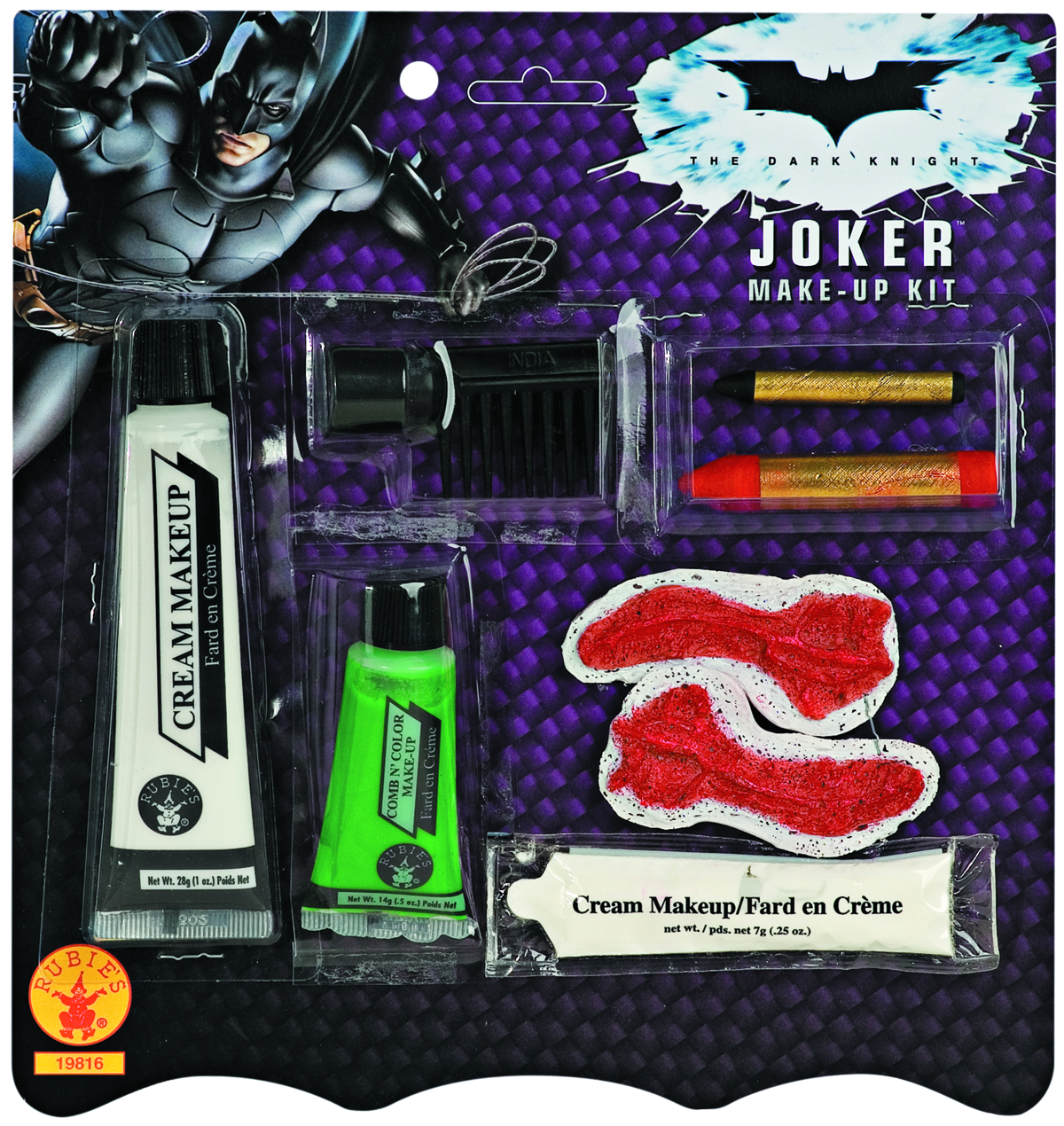 DARK KNIGHT JOKER MAKE UP KIT