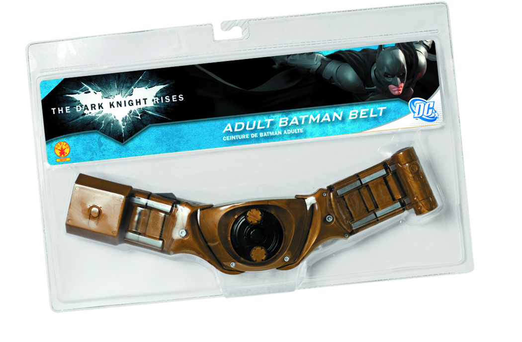 DARK KNIGHT RISES BATMAN UTILITY BELT ADULT