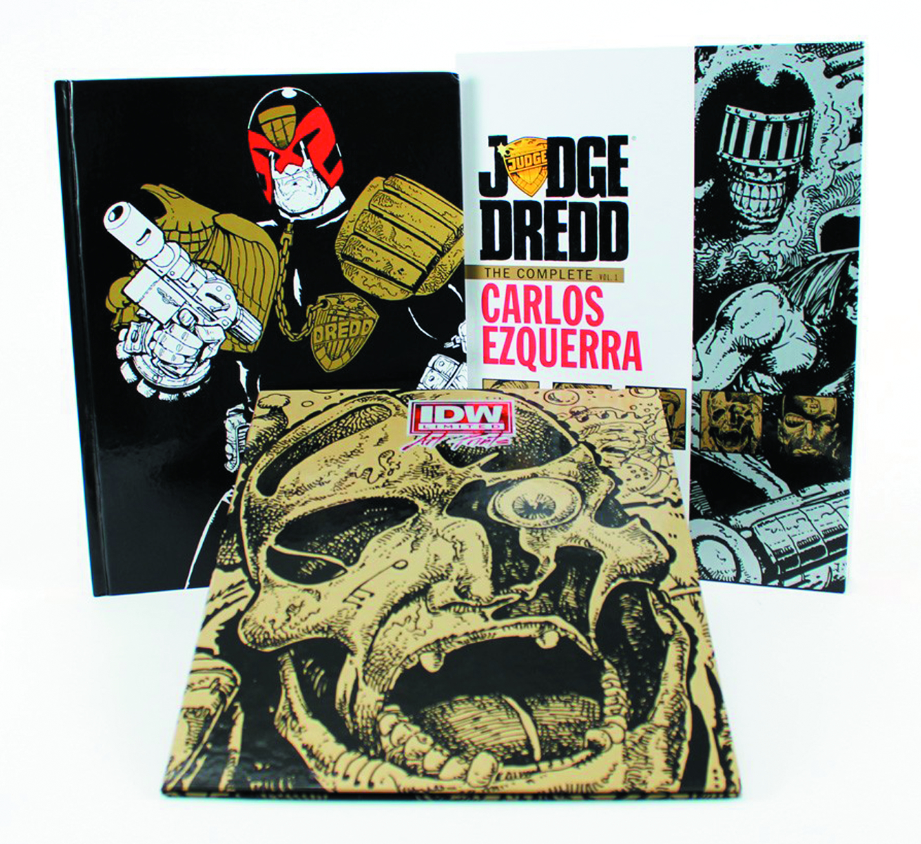 JUDGE DREDD COMPLETE CARLOS EZQUERRA HC VOL 01 RED LABEL ED