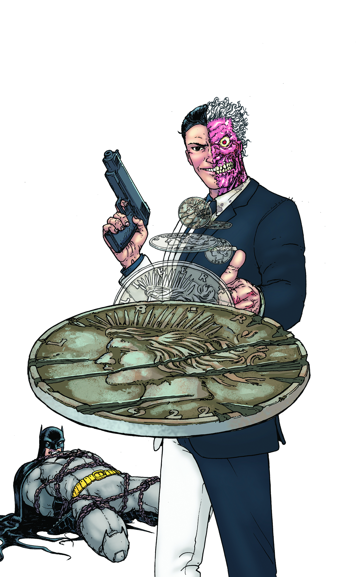 BATMAN AND ROBIN #23.1 TWO FACE