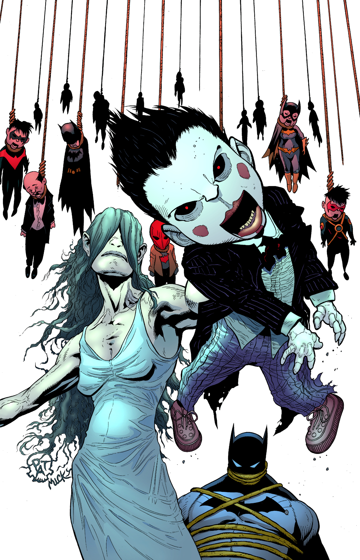 BATMAN THE DARK KNIGHT #23.1 VENTRILOQUIST
