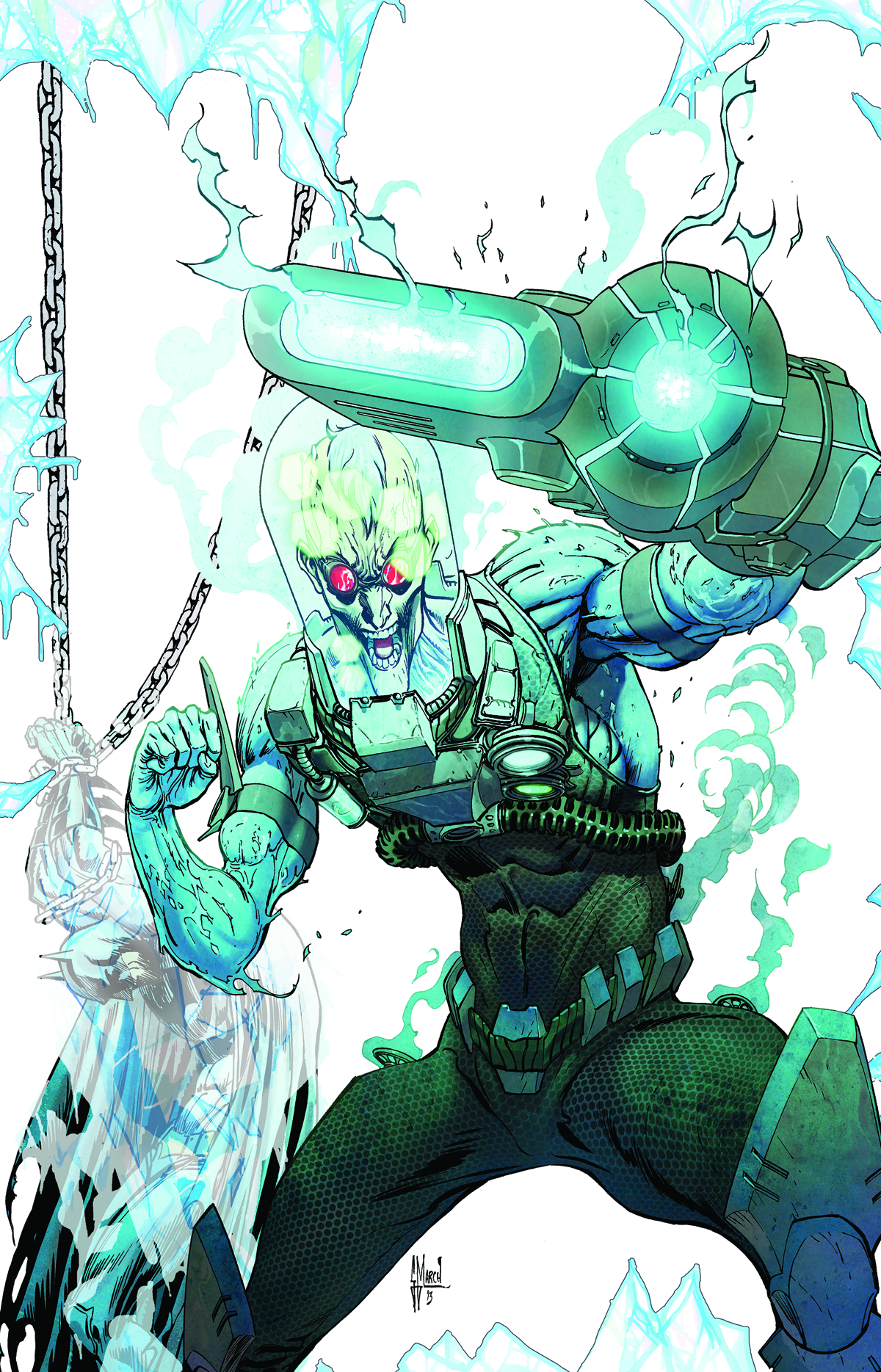 BATMAN THE DARK KNIGHT #23.2 MR FREEZE