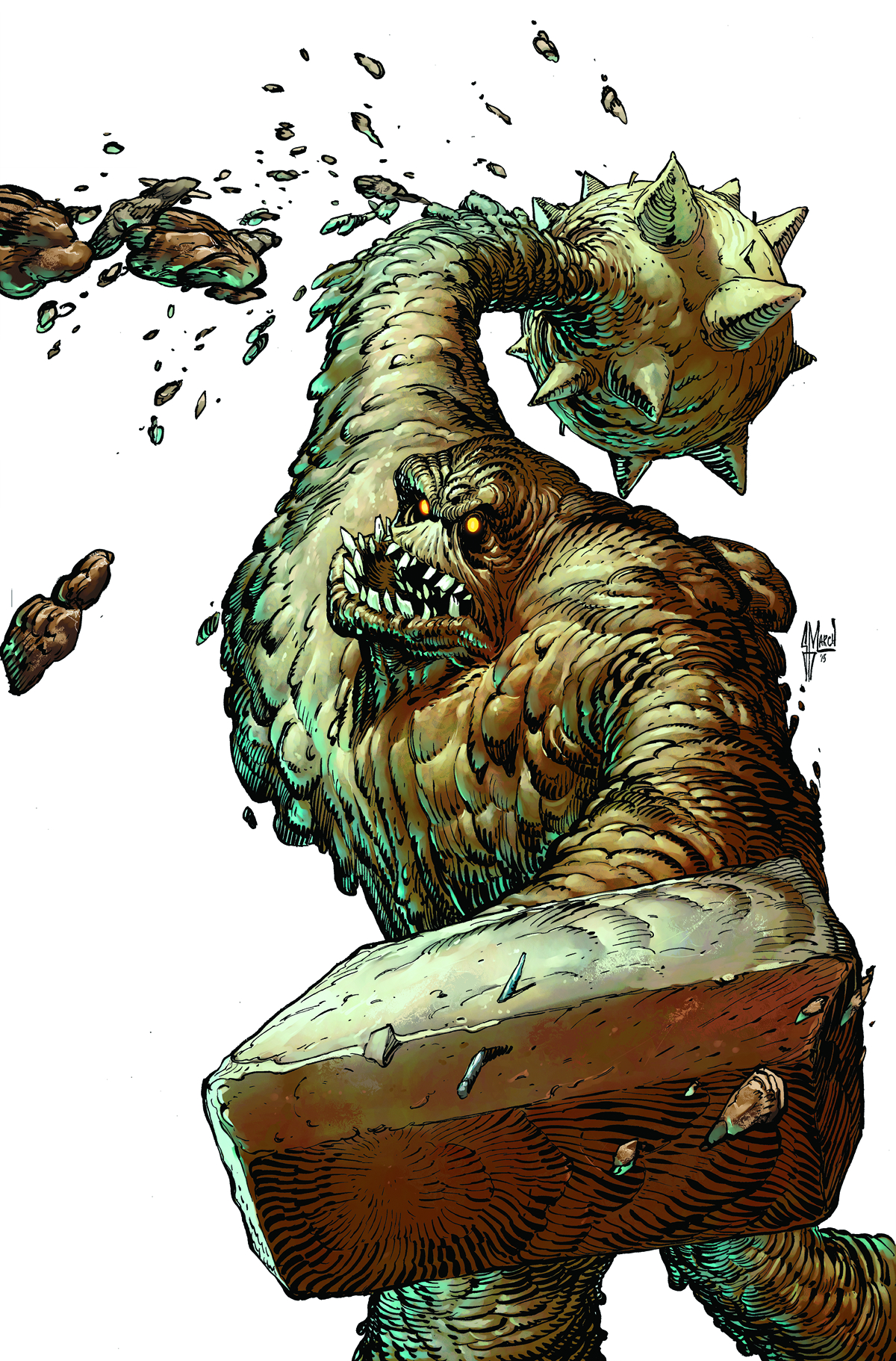 BATMAN THE DARK KNIGHT #23.3 CLAYFACE