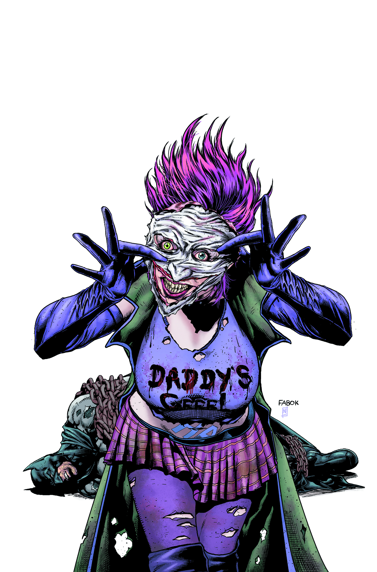 BATMAN THE DARK KNIGHT #23.4 JOKERS DAUGHTER
