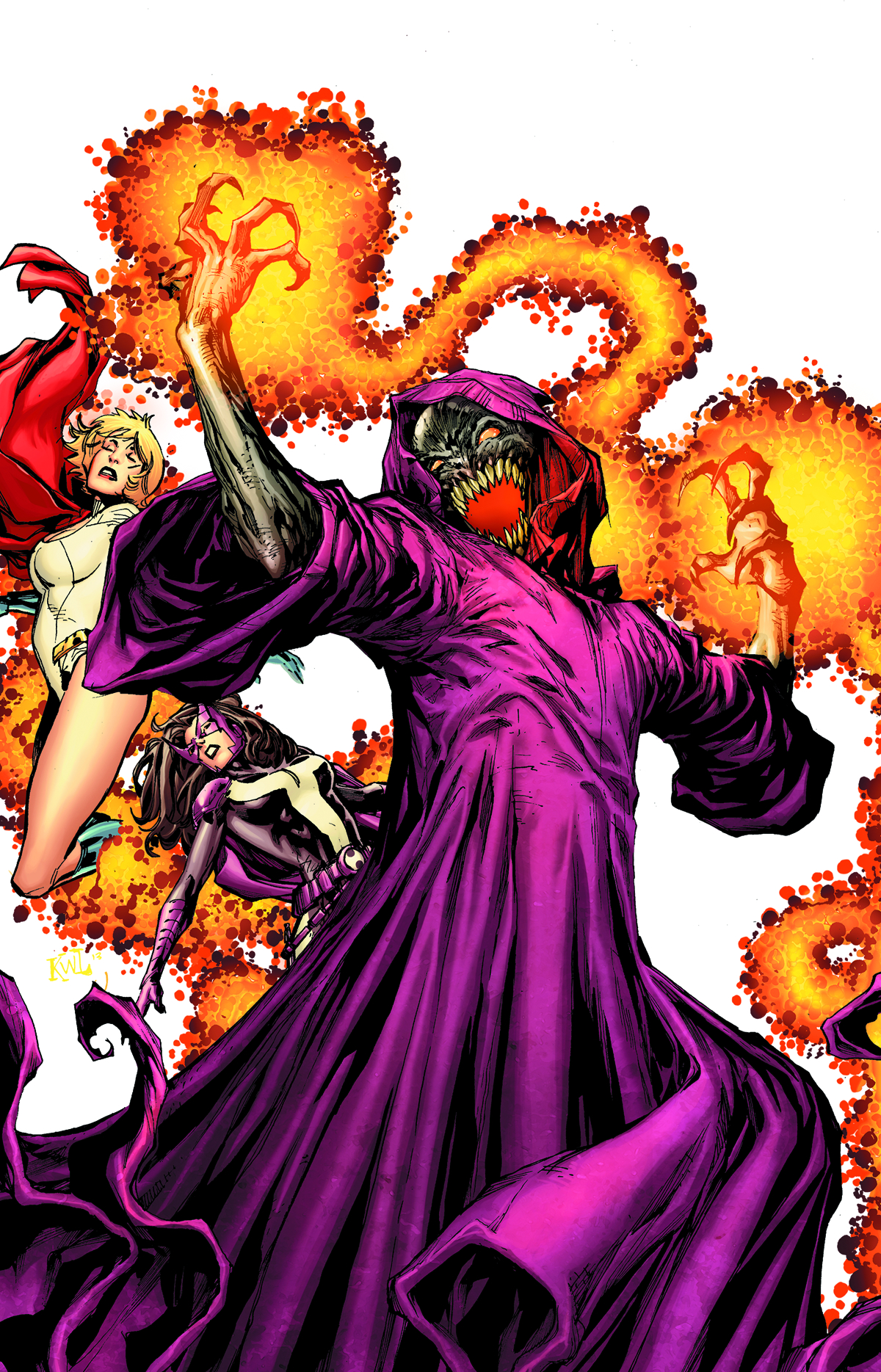 EARTH 2 #15.1 DESAAD
