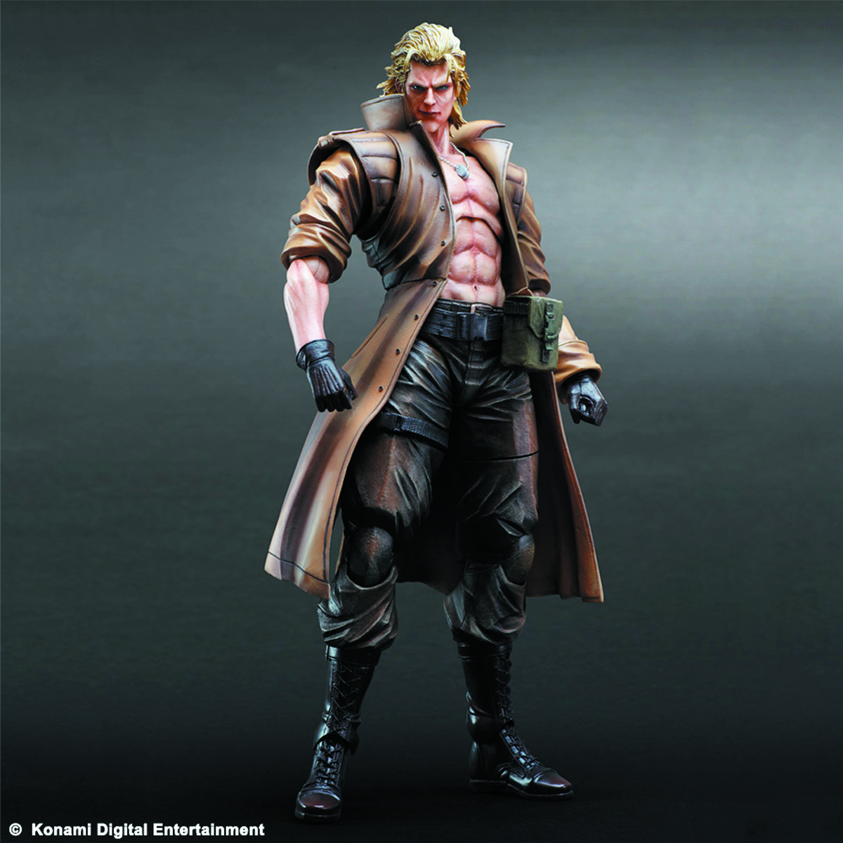 MGS PLAY ARTS KAI LIQUID SNAKE AF
