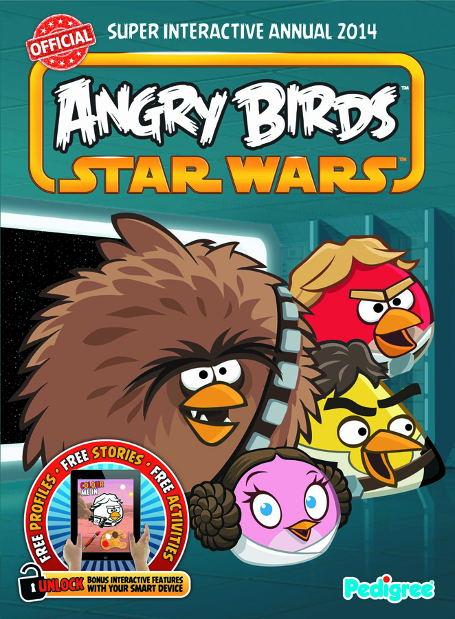ANGRY BIRDS STAR WARS INTERACTIVE ANNUAL 2014 HC
