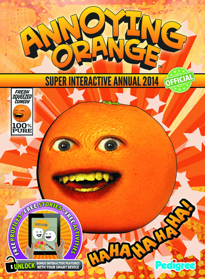 ANNOYING ORANGE INTERACTIVE ANNUAL 2014 HC