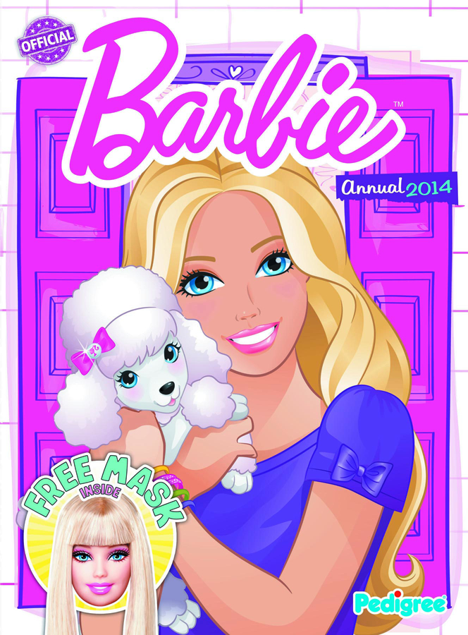 BARBIE ANNUAL 2014 HC