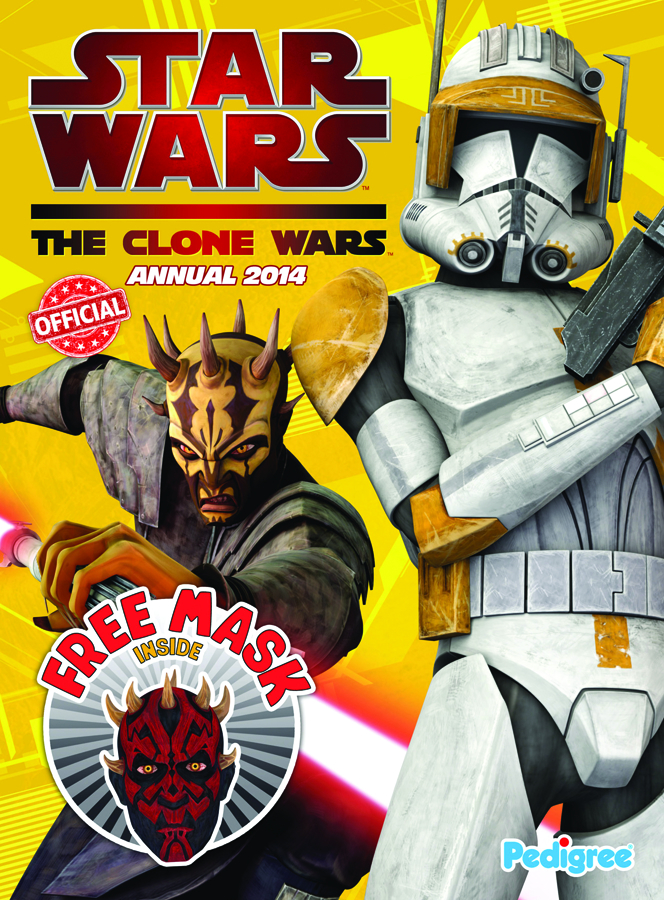 STAR WARS CLONE WARS ANNUAL 2014 HC