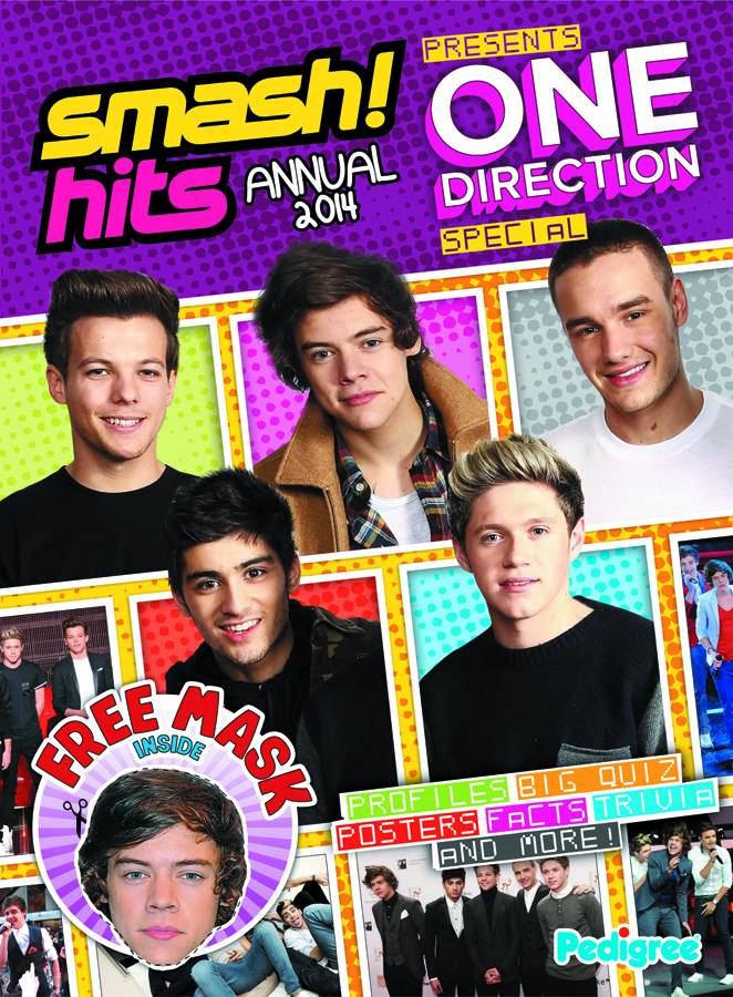 SMASH HITS ONE DIRECTION SP ANNUAL 2014 HC