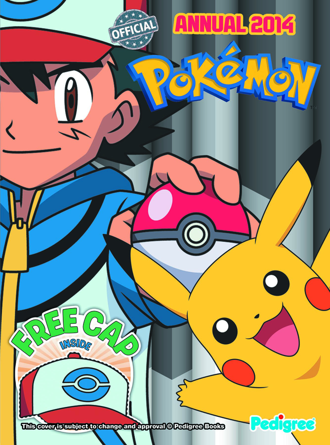 POKEMON ANNUAL 2014 HC
