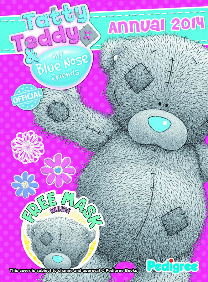TATTY TEDDY BLUE NOSE FRIENDS ANNUAL 2014 HC