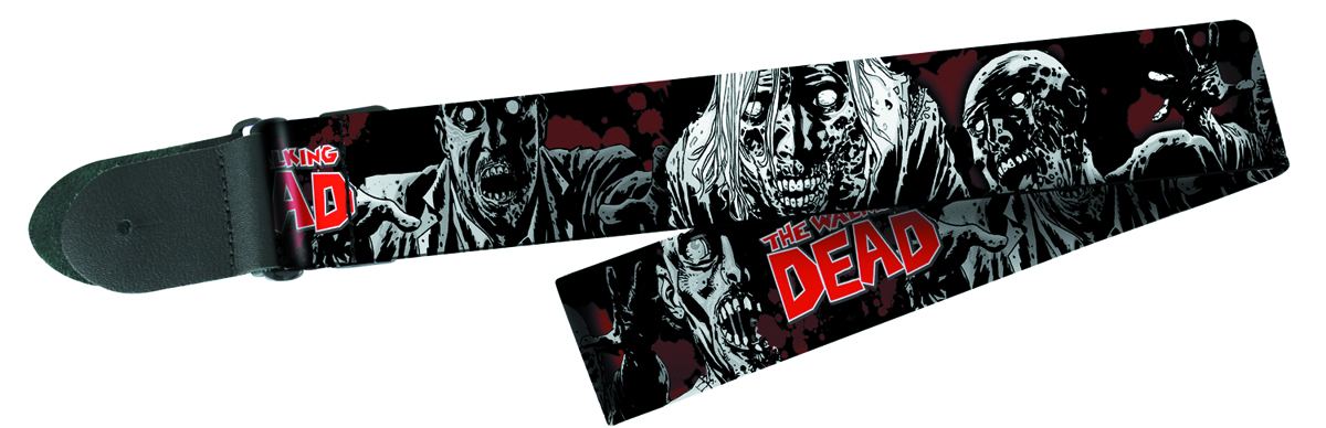 WALKING DEAD WALKERS POLY GUITAR STRAP