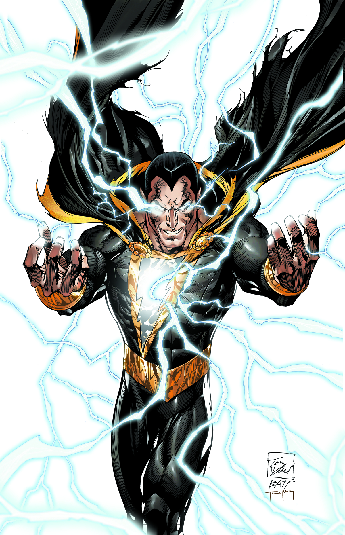 JUSTICE LEAGUE OF AMERICA #7.4 BLACK ADAM