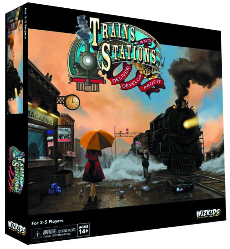 TRAINS & STATIONS STRATEGY GAME