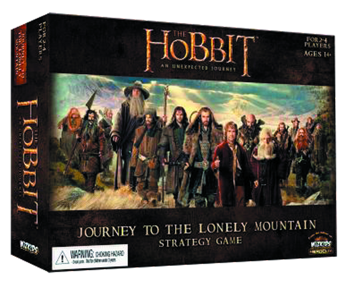HOBBIT JOURNEY TO LONELY MOUNTAIN STRATEGY GAME