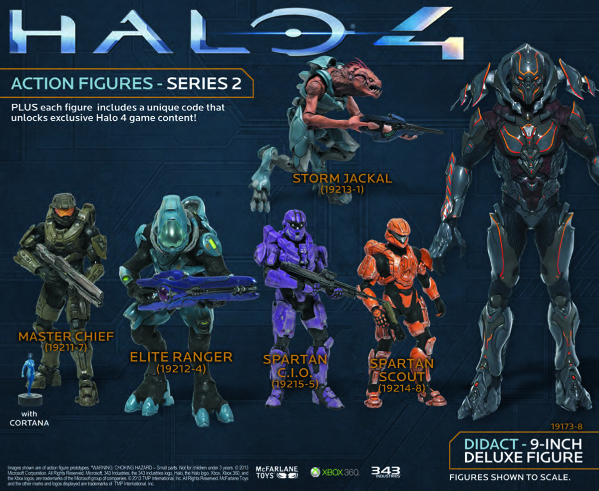 HALO 4 SERIES 2 DIDACT 9IN DLX AF CS