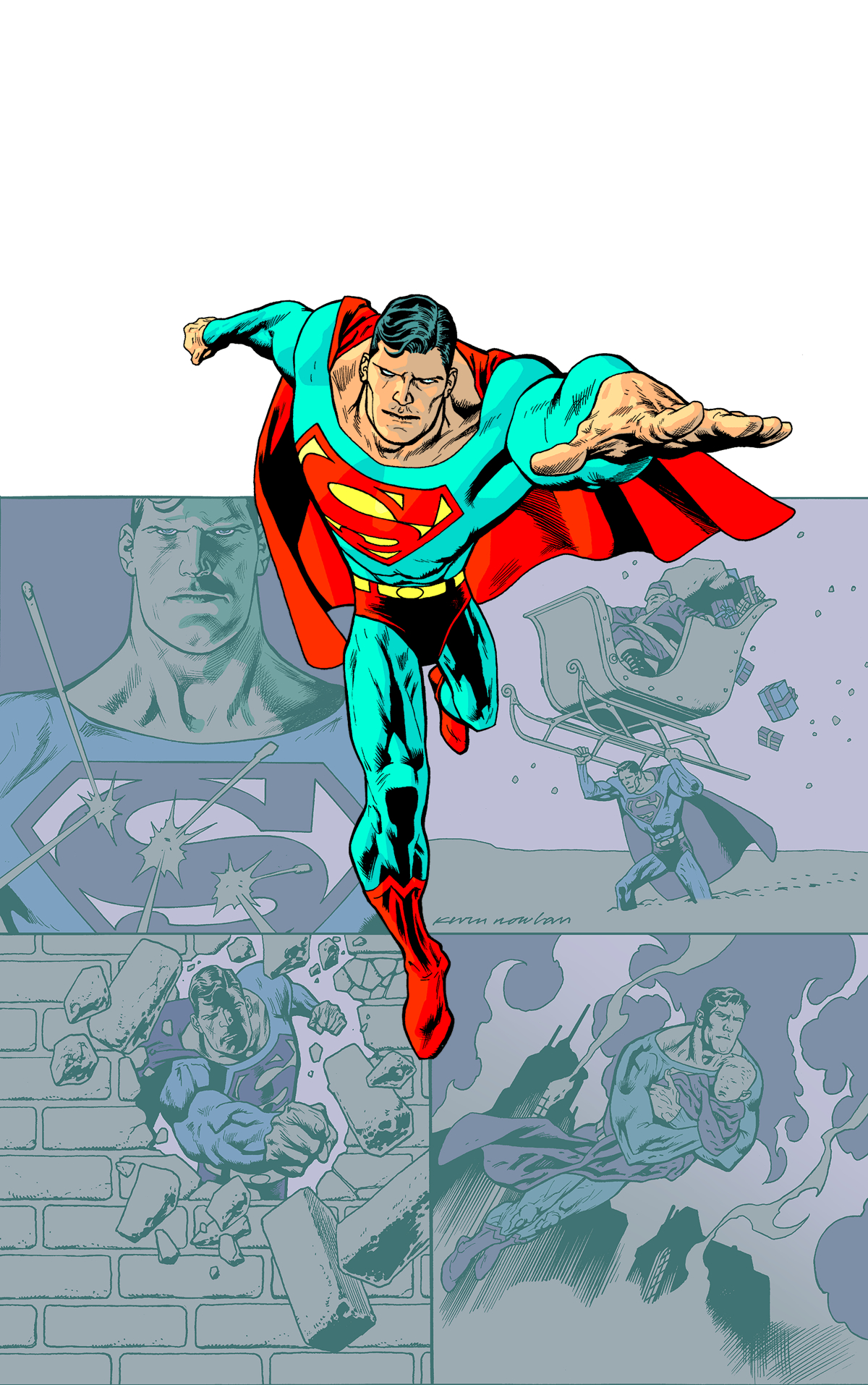 SUPERMAN THE MAN OF STEEL BELIEVE TP