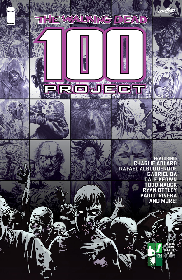 WALKING DEAD 100 PROJECT TP