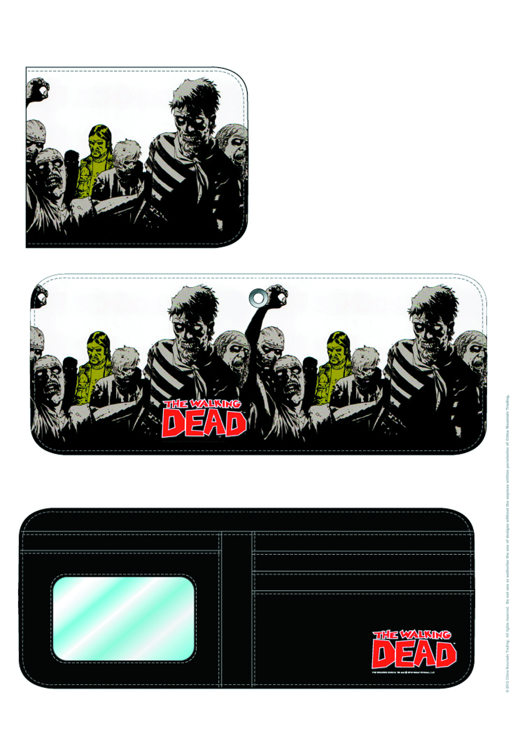 WALKING DEAD GOVERNOR BILLFOLD WALLET