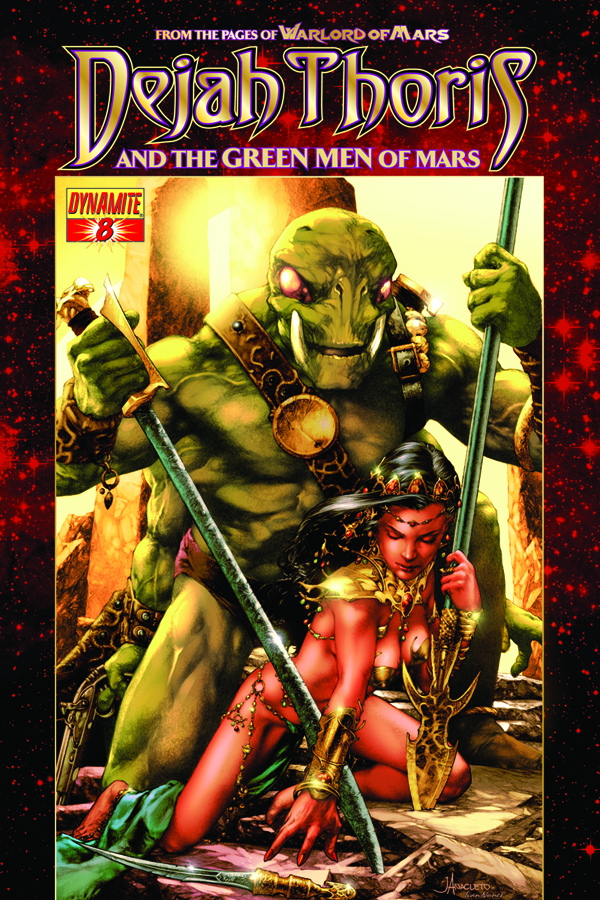 DEJAH THORIS & GREEN MEN OF MARS #8 (OF 12)