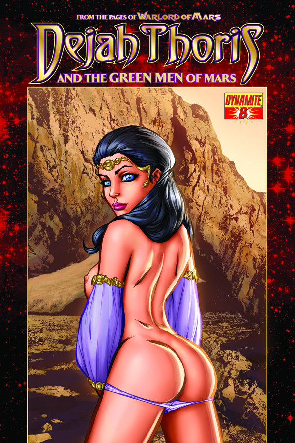 DEJAH THORIS & GREEN MEN OF MARS #8 35 COPY GARZA INCV