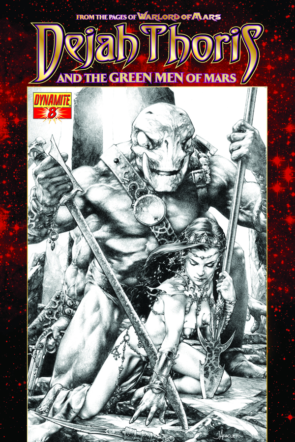 DEJAH THORIS & GREEN MEN OF MARS #8