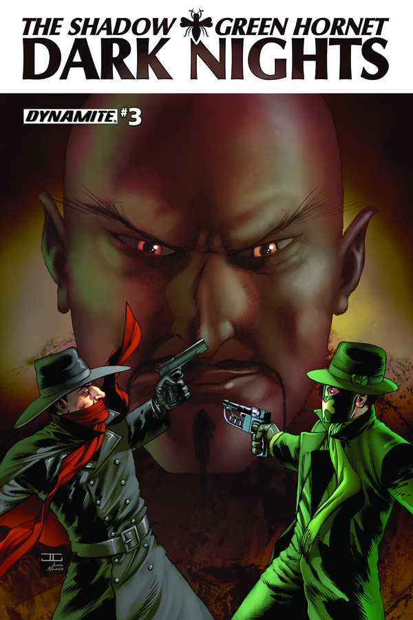 SHADOW GREEN HORNET DARK NIGHTS #3