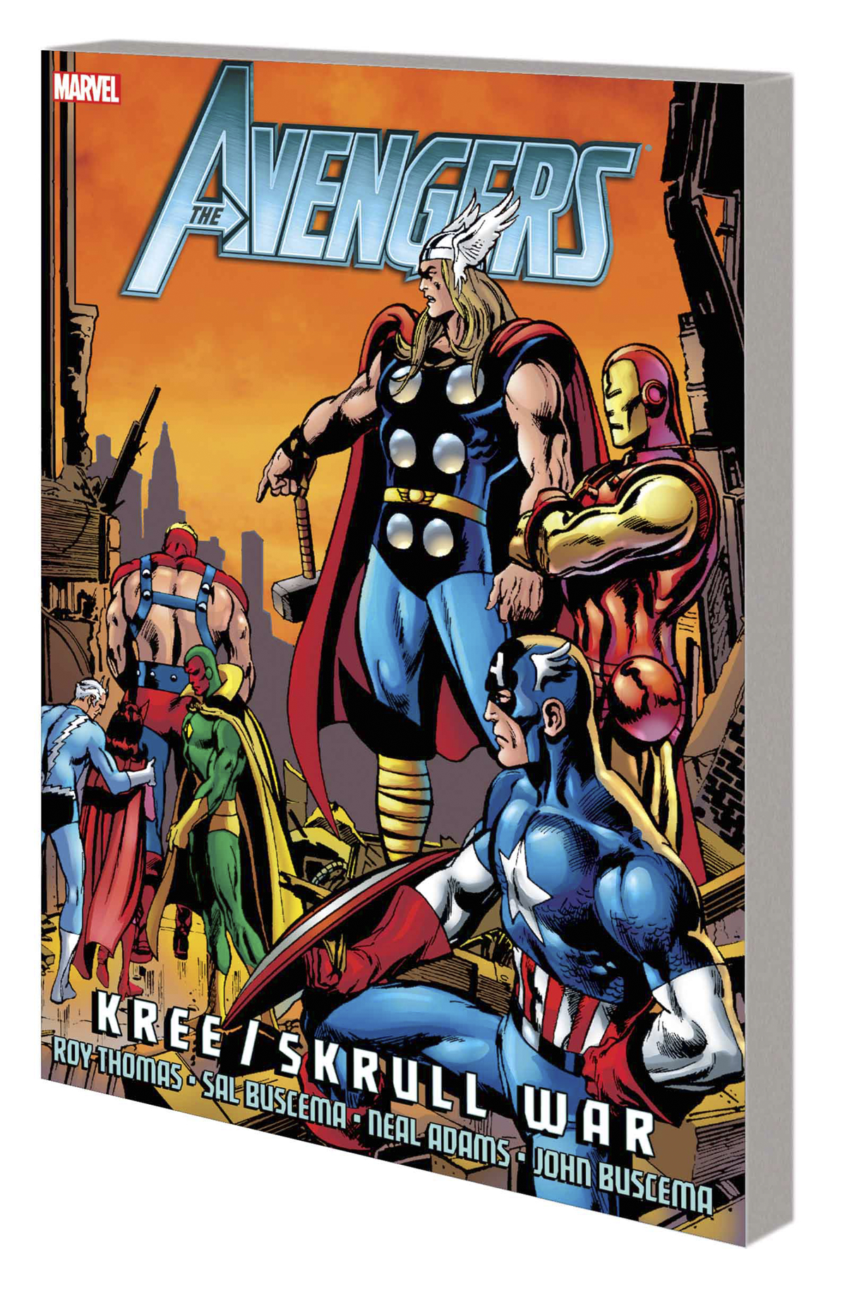 AVENGERS TP KREE SKRULL WAR ALL NEW ED