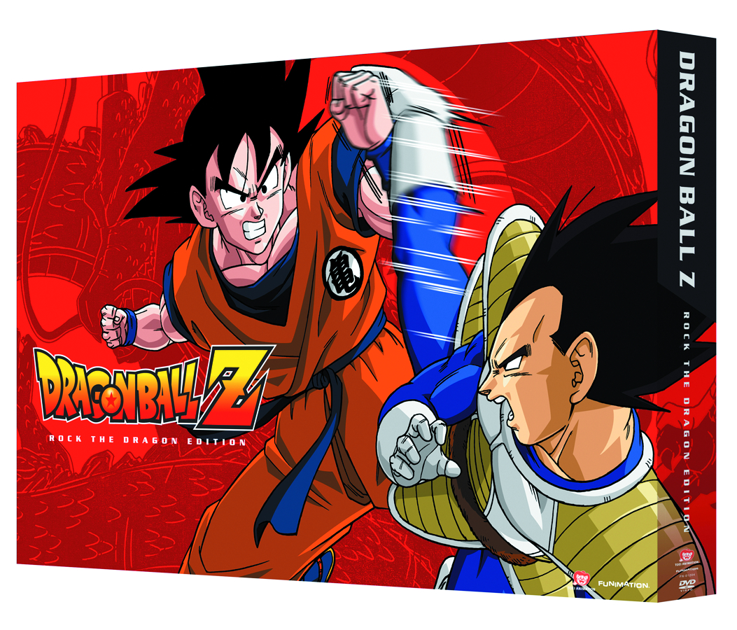 DBZ ROCK THE DRAGON COLL ED DVD
