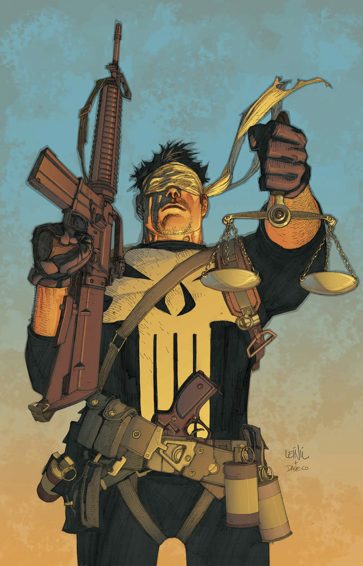 PUNISHER TRIAL OF PUNISHER #1