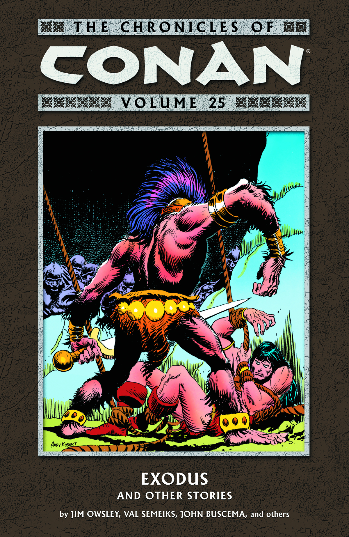 CHRONICLES OF CONAN TP VOL 25 EXODUS