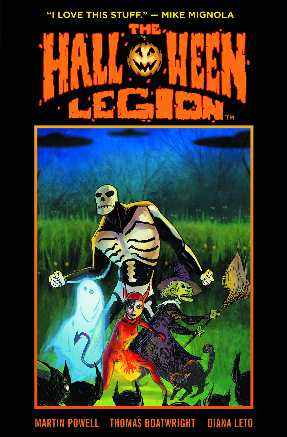 HALLOWEEN LEGION GREAT GOBLIN INVASION HC