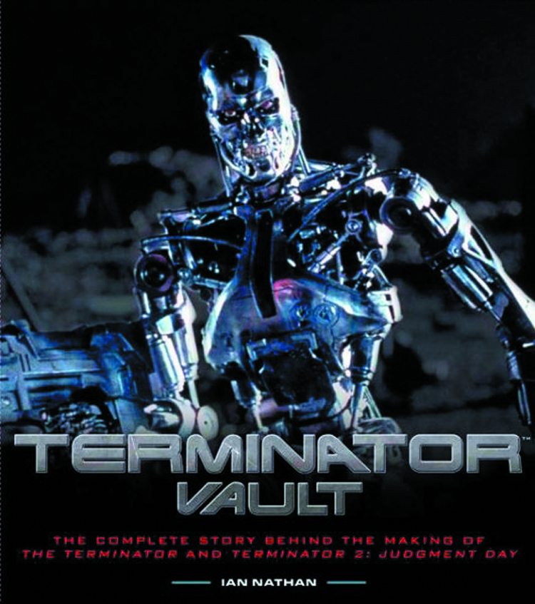 TERMINATOR VAULT DEFINITIVE STORY MAKING OF T1 & T2 HC