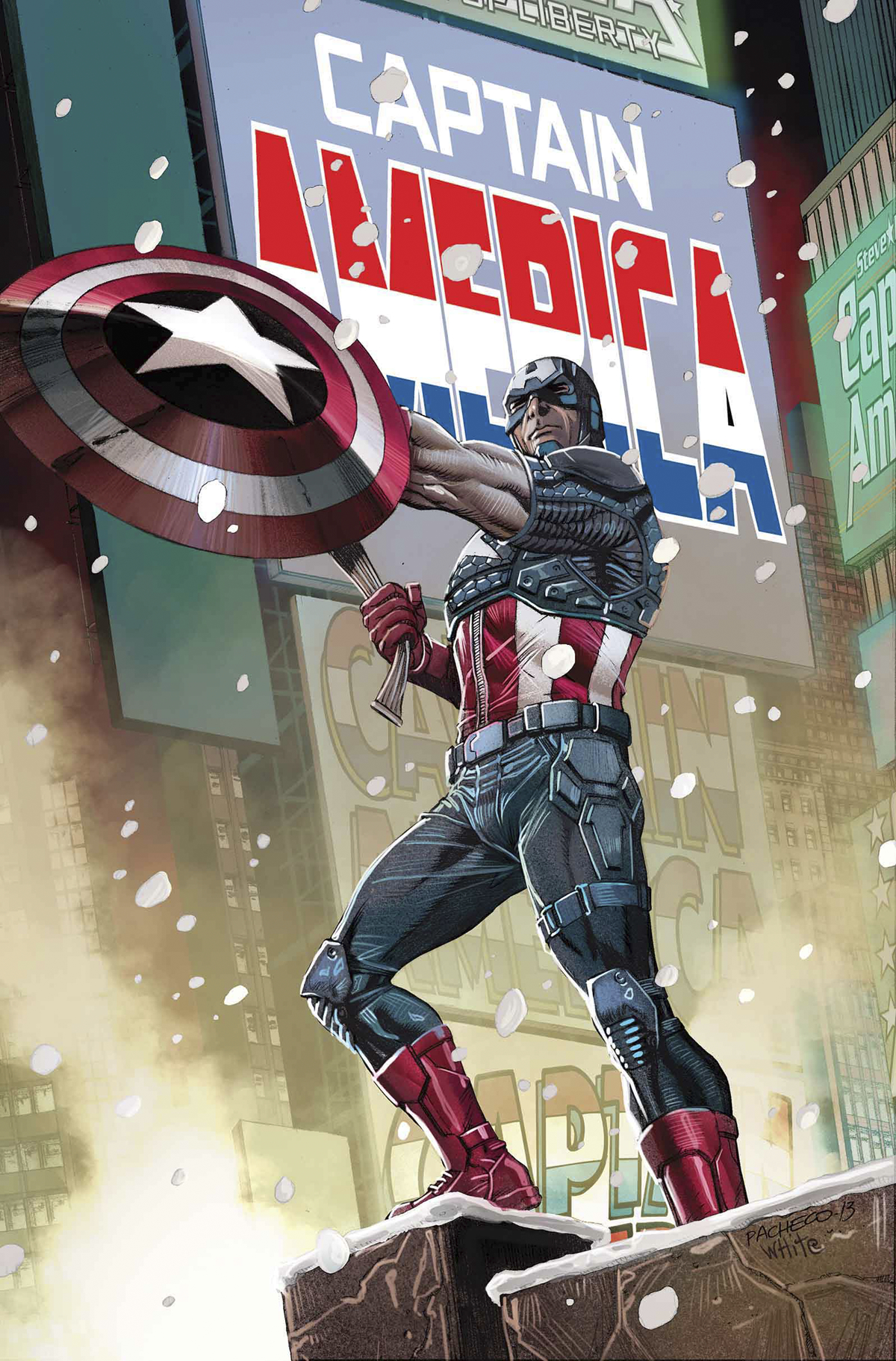 CAPTAIN AMERICA BY PACHECO POSTER