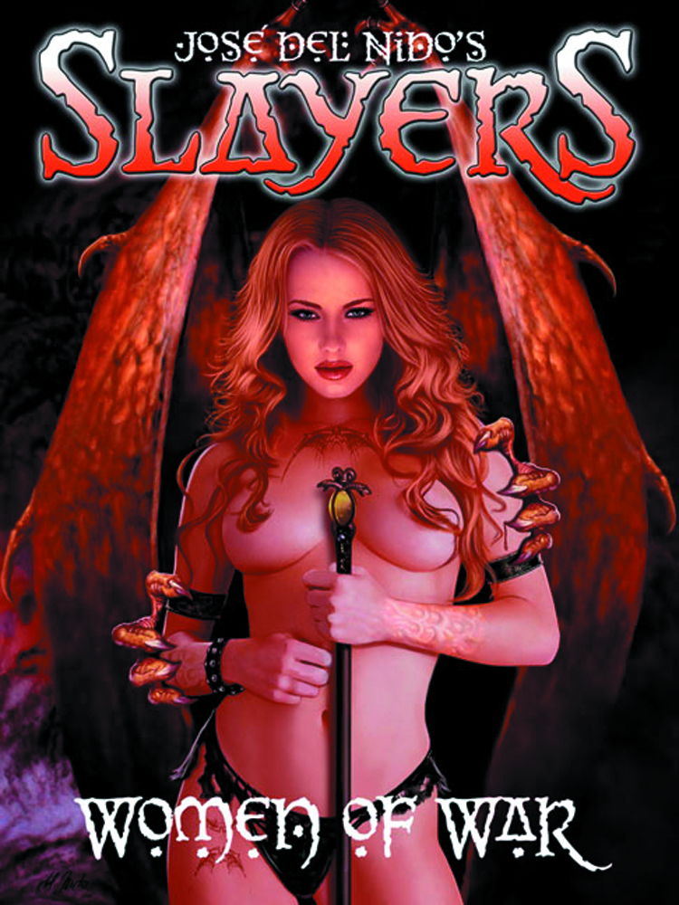 SLAYERS WOMEN OF WAR ART OF JOSE DEL NIDO SC