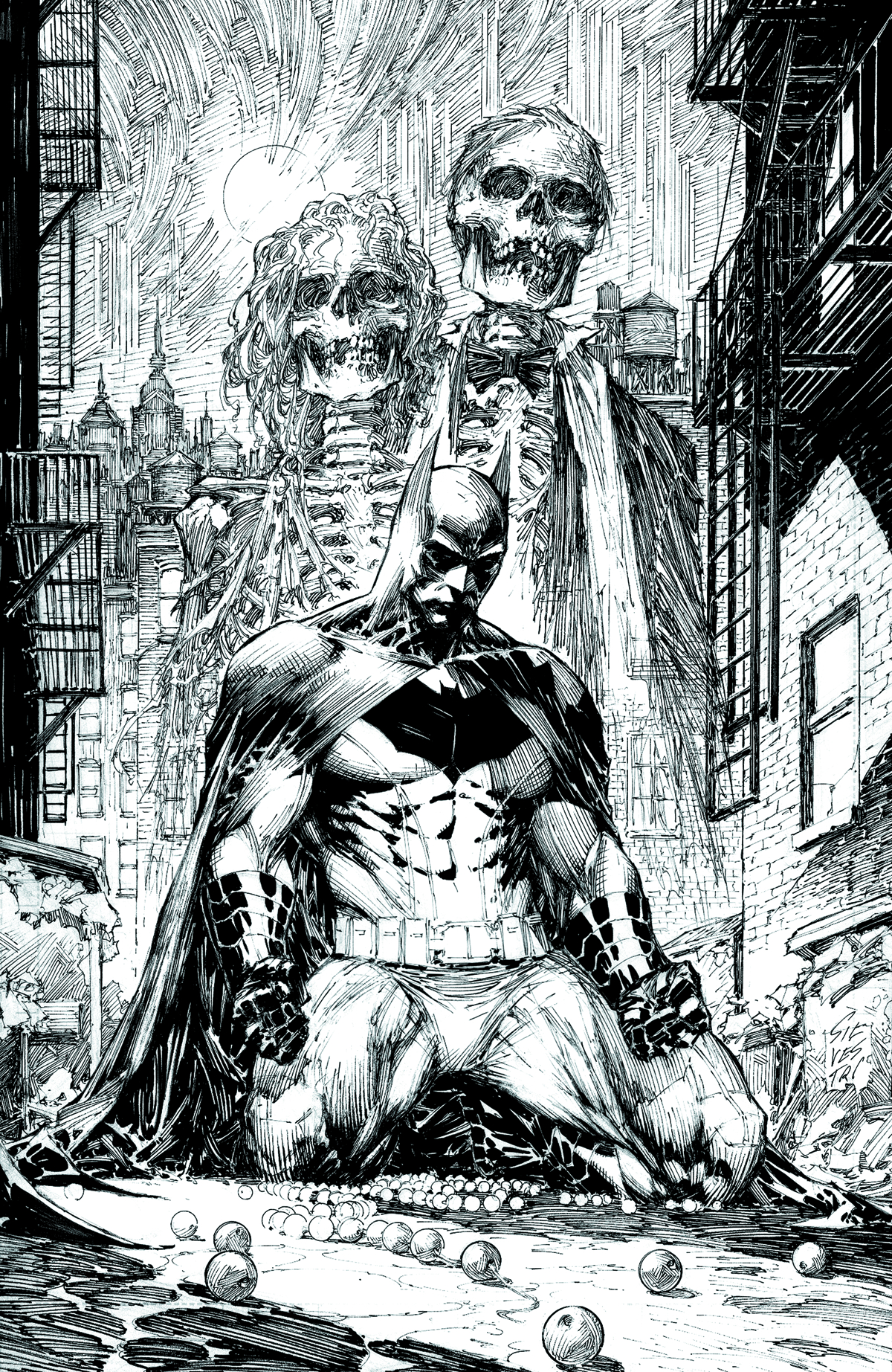BATMAN BLACK & WHITE #1