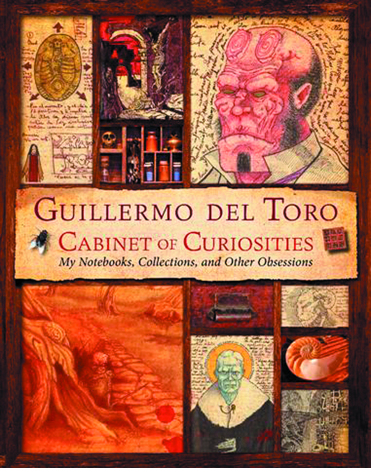 GUILLERMO DEL TORO CABINET OF CURIOSITIES HC