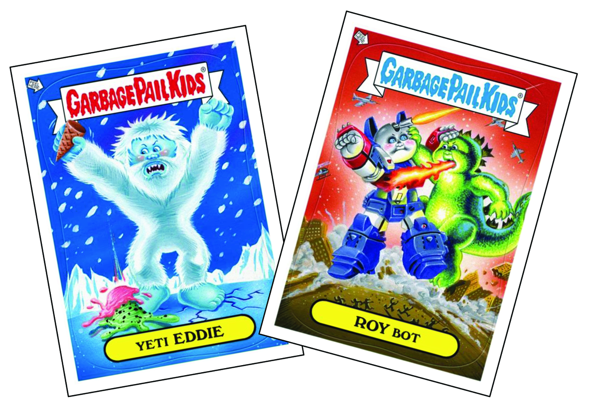 GARBAGE PAIL KIDS SERIES 3 T/C BOX