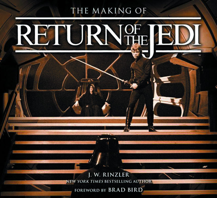 MAKING OF STAR WARS EPISODE VI RETURN OF JEDI HC